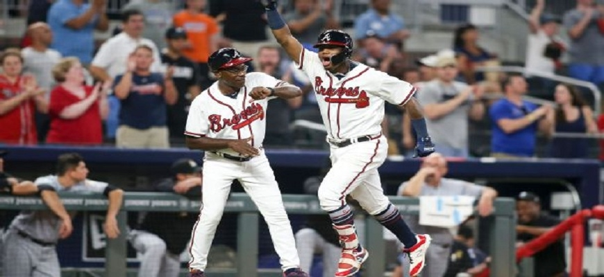 Acuña pegó Grand Slam